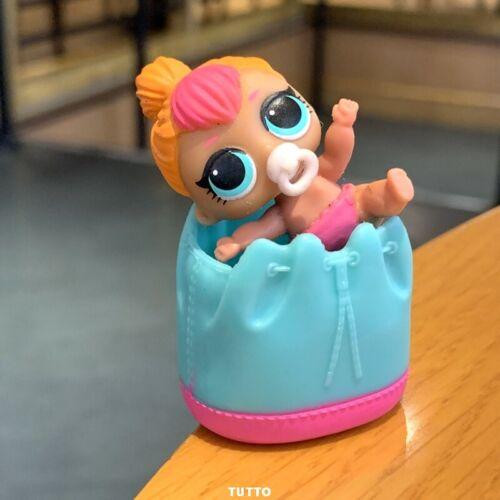 With bag LOL Surprise LiL Sisters L.O.L. NEON Q.T. SERIES 2 dolls toys TTUS