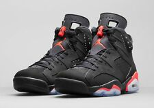 2014 Nike Air Jordan 6 VI Retro Black Infrared Size 15. 384664-023 1 2 3 4 5