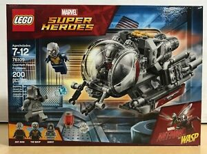 LEGO Marvel Super Heroes Wasp MINIFIG from Lego set #76109 New