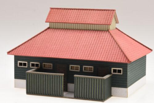 """te-miniatur 1820 Bausatz Toilettengebäude für Bahnhof /""""Schierke/"""" Harz Spur H0"""