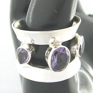 Ring-925-Sterling-Silber-Silberring-mit-Amethyst-extra-breit-Fingerring-In4-7