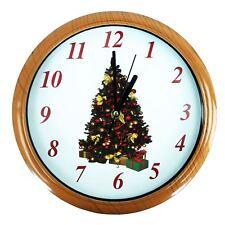 item 5 musical christmas clock plays wonderful christmas tunes on the hour musical christmas clock plays wonderful christmas tunes on the hour - Musical Christmas Clock