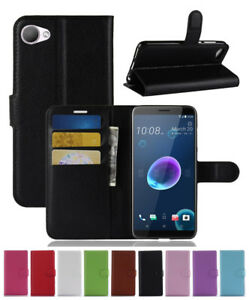 Flip-Magnetic-Card-Wallet-PU-Leather-Case-Stand-Cover-For-HTC-Desire-12