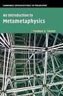 An Introduction to Metametaphysics by Tuomas E. Tahko (Hardback, 2015)