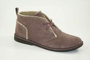 Timberland-Ridgefield-Desert-Chukka-Boots-Kinder-Schuhe-Warm-Gefuettert-1690R