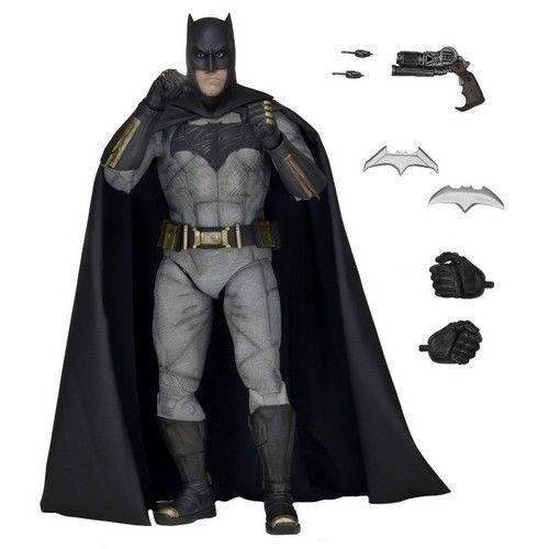 1/4 18  DC Comics Batman vs Superman Dawn of Justice Batman Action Figure NECA