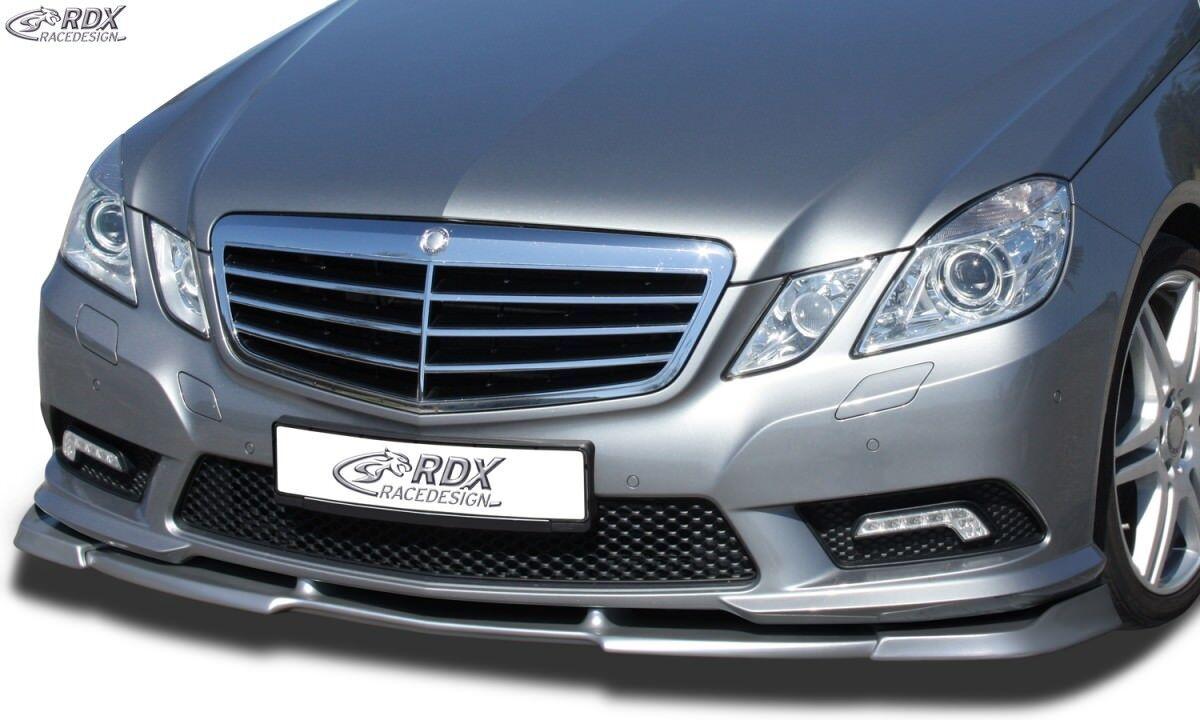 RDX alerón labio para mercedes mercedes mercedes clase e w212 AMG styling 09-13 enfoque espada b4a5cc