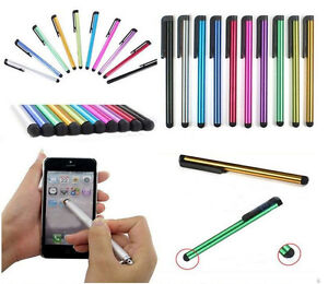 2x-Penna-Touch-Touch-Penna-per-Iphone-5-5s-5c-6-6-Plus-7-8-x-Vari-Colori