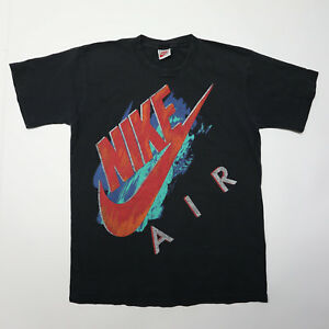 80s Medium Logo Big Short Graphic Mens Swoosh Sleeve Black Air Nike Bvqw44