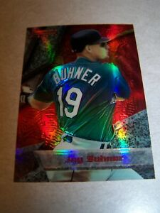 1994-Jay-Buhner-Bowman-039-s-Best-red-034-refractor-034-card-amp-1988-Buhner-rookie-card