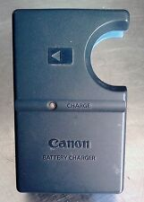 Original CB-2LS Canon BATTERY CHARGER  and  2 batteries NB-1LH used 3.7v(Li-ion)