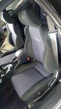 94 99 Toyota Celica 25th Anniversary Seat Set Frontrear Black Cloth Oem