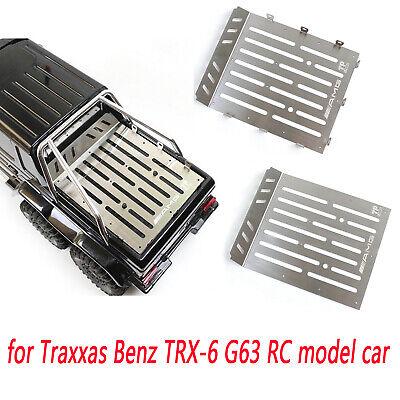 Traxxas Mercedes TRX-6 G63 RC Autoteile langlebige Edelstahl-Kofferraumplatte