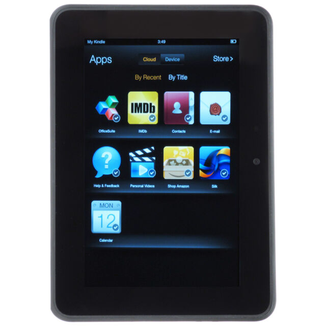 Amazon Kindle Fire Hd 7 2nd Generation 16gb Wi Fi 7in Black For Sale Online Ebay