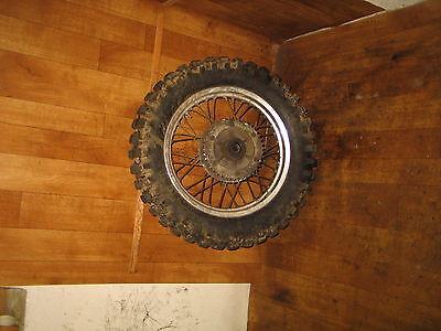 Hinterrad / rear wheel / Suzuki DR 650-SP41