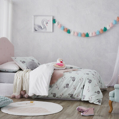 Adairs Kids Odette Double Quilt Cover Set BNIP RRP $129.99