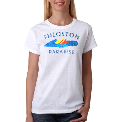 The Fifth Element Fhloston Paradise Retro Women/'s White T-shirt NEW Sizes S-2XL