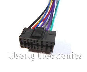 new 16 pin wire harness for jvc kd g210 kd g220 ebay rh ebay com JVC RM RK50 Manual JVC Wired Remote