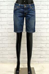 Pantaloncino-LIU-JEANS-Donna-Taglia-31-Bermuda-Shorts-Pantalone-Corto-Woman-Blu