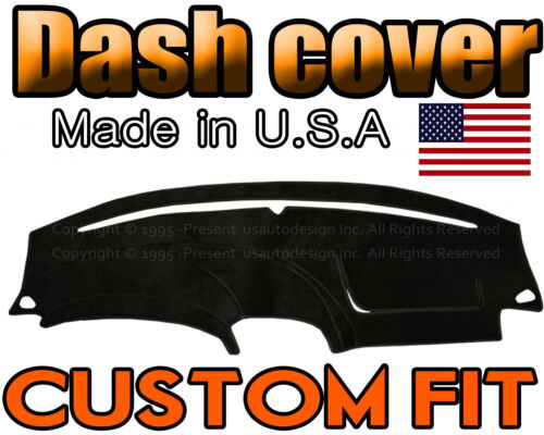 BLACK Fits 2002-2006 FORD  THUNDERBIRD  DASH COVER MAT  DASHBOARD PAD