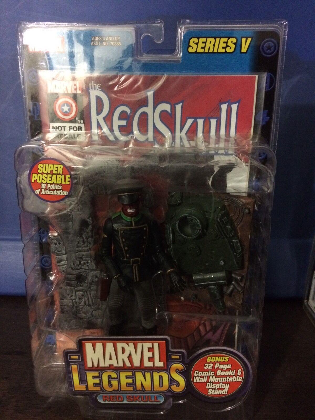 Marvel - legenden  rot skull - serie.