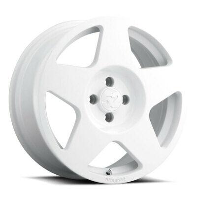 f fifteen52 Turbomac 17x7.5 5x100 30mm ET 73.1mm Center Bore Rally White Wheel