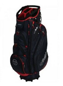 Fastfold-Golf-Cart-Trolley-Bag-14-Way-Divider-Big-Putter-Well-Blue-Red-White-New