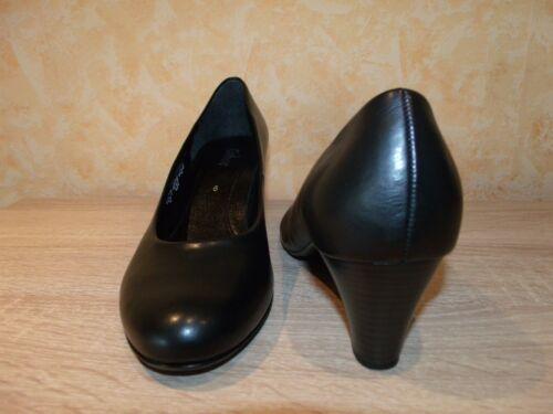 Gabor 5 Softmaterial 5 9 43 Schwarz Gr Blau amp; Schlichte 42 Neu Pumps 8 rzr6aF