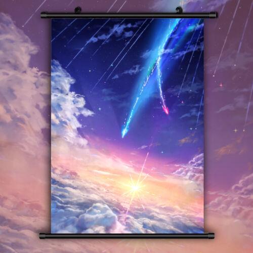 Kimi no Na wa Your Name HD Print Anime Wall Poster Scroll Room Decor