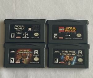 Gameboy Advance Star Wars Trilogy, New Droid Army, Power Battles, Lego Videogame