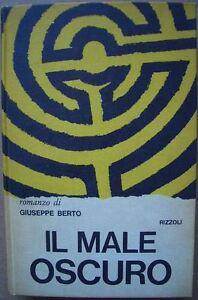 IL-MALE-OSCURO-di-Giuseppe-Berto-Rizzoli-1964