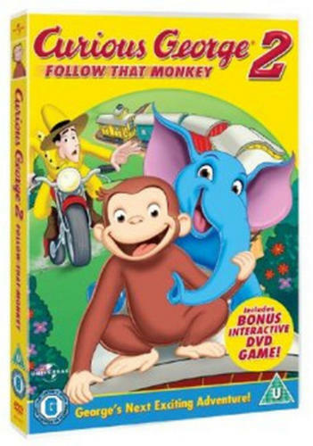 1 of 1 - Curious George 2 - Follow That Monkey [DVD]