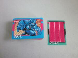 1992-Impel-The-Uncanny-X-Men-100-Card-Base-Set