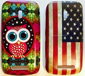Handy-Schutz-Huelle-Tasche-Nokia-Lumia-610-USA-Case-Bumper-Back-Cover-Etui-Neu