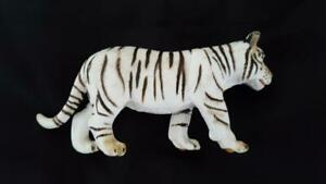 4-5-034-SCHLEICH-GERMANY-ADULT-WHITE-BENGAL-TIGER-FIGURINE-TOY-PLASTIC-EDUCATIONAL