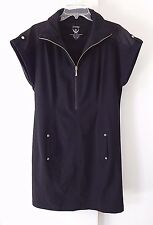 womens little black dress CHICOS ZENERGY stretch casual short sleeve stretch 2