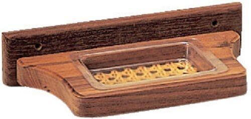 Roca Teakholz Seifenschale,ideal fürs Boot maritimes Desing,haltbar/&hochwertig