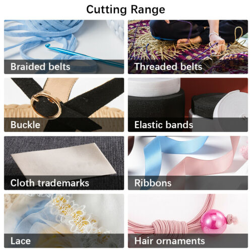 Professional Hot Cutting Ribbon Rope Cutter Electric Heating Machine NEW