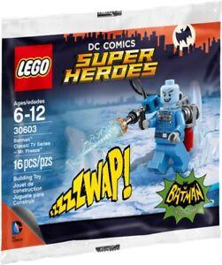 2 LEGO MR FREEZE POLYBAG Classic Batman TV Series  Minifig set 30603 lot of