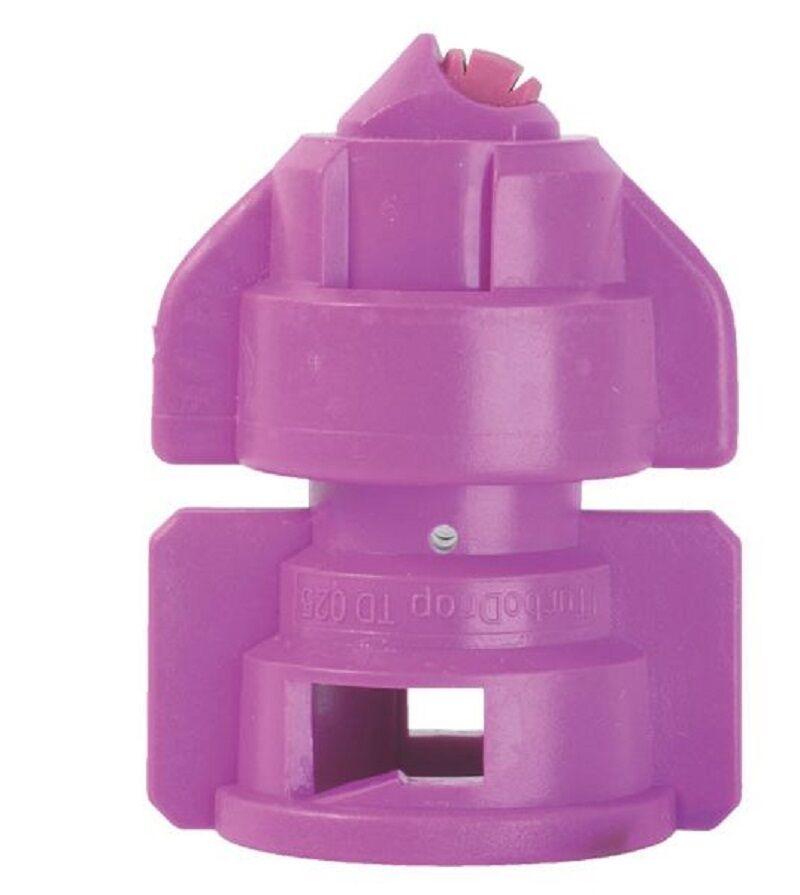 TDHS110025 Doppelflachstrahldüse TDHS HiSpeed 110° violett  AGROTOP