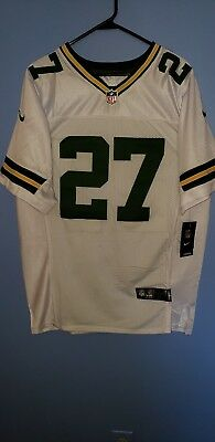 Packers Stitched White Away Eddie Lacy Jersey Size 40 M | eBay