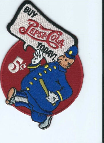 """Buy Pepsi Cola Today /""""Wimpie/"""" driver patch 3-1//2 X 3-1//2 #2578"""
