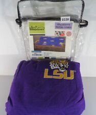 College Covers Louisiana State Tigers Futon Cover Full Size Fits 6 8 D16