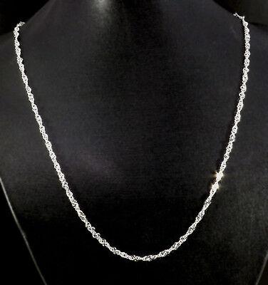 Damenkette 925-er versilbert ca 44 cm