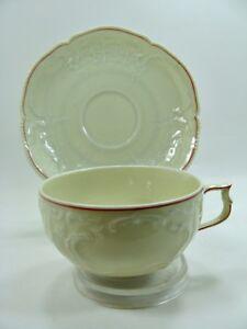 Rosenthal - Sanssouci: Tasse mit Untertasse - Tasse Ø 9,6 cm H 5,3 cm