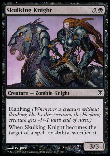 4x Skulking Knight MTG Time Spiral NM Magic Regular