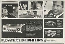 W3110 Autoradio PHILIPS - Pubblicità 1967 - Advertising