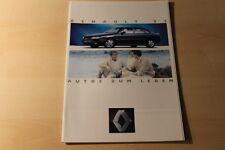 00449) Renault R 19 16V - Alpine A 610 - Espace Clio Prospekt 12/1992