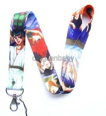 Lot Japanese anime Neck Strap Lanyards Mobile Phone Key Chain Party Favors T034