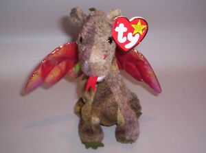 Details about Ty Beanie Baby - Scorh - Dragon - #4210